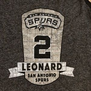 Majestic Tops - Women's San Antonio Spurs Leonard #2 Tank XL NWT